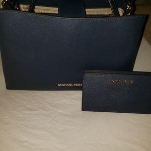 Michael kors Sofia Satchel with wallet